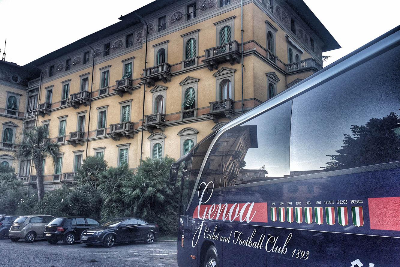 genoa grand hotel & la pace spa